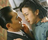 Tony Leung (left) and Tang Wei in 'Lust, Caution' &#169; 2007 HAISHANG FILMS/WISEPOLICY