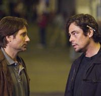 David Duchovny and Benicio Del Toro  © 2007 DREAMWORKS LLC. ALL RIGHTS RESERVED