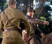 Harrison Ford returns as Indiana Jones, putting in an action-packed performance despite his advancing years. | © 2008 LUCASFILM LTD. ALL RIGHTS RESERVED