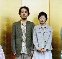 Lily Franky and Tae Kimura play a couple devastated by depression in 'Gururi no Koto' |