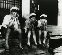 Old classic: A still from Hiroshi Shimizu's 'Children of the Wind.' | (C) 1937 SHOCHIKU CO., LTD.