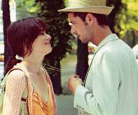 All in the eyes: Parker Posey and Melvil Poupaud in 'Broken English'