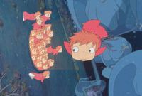 Miyazaki's latest smash, 'Gake no Ue no Ponyo' ('Ponyo On the Cliff by the Sea') | © 2008 NIBARIKI GNDHDDT