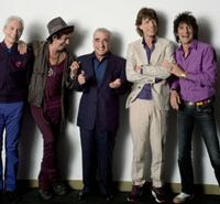 Charlie Watts, Keith Richards, Martin Scorsese, Mick Jagger and Ronnie Wood combine to deliver 'Shine a Light.' | © 2007 BY PARAMOUNT CLASSICS, A DIVISION OF PARAMOUNT PICTURES, SHINE A LIGHT, LLC AND GRAND ENTERTAINMENT (ROW) LLC. ALL RIGHTS RESERVED
