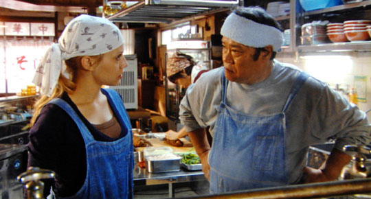 Bowled over: Brittany Murphy and Toshiyuki Nishida in 'The Ramen Girl' | © 2008 DIGITALSITE CORP./MEDIA 8 ENTERTAINMENT