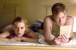 Bedtime stories: Kate Winslet and David Kross in 'The Reader' | © 2008 TWCGF FILM SERVICES 11, LLC. ALL RIGHTS RESERVED