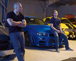 Gearing up: Vin Diesel (left) and Paul Walker in 'Fast & Furious.' | © 2009 UNIVERSAL STUDIOS. ALL RIGHTS RESERVED
