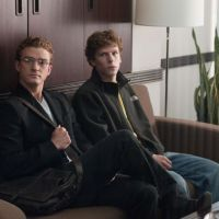 Making connections: Justin Timberlake (left) and Jesse Eisenberg star as Napster founder Sean Parker and Facebook cofounder Mark Zuckerberg in 'The Social Network.'