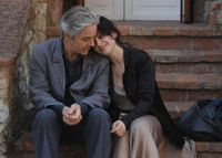 Hard copy: James Miller and Juliette Binoche appear in 'Copie Conforme,' a movie that is anything but a knockoff. | © LAURENT THURIN-NAL / MK2