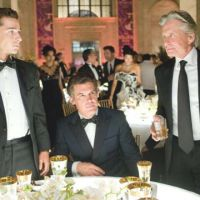 Lifestyles of the rich and shameless: Shia LaBeouf (left) and Josh Brolin (center) join Michael Douglas' notorious Gordon Gekko character in `Wall Street: Money Never Sleeps.' | © TWENTIETH CENTURY FOX
