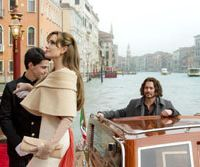 A low ebb: Angelina Jolie and Johnny Depp in 'The Tourist.'