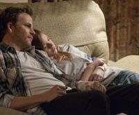 Over the rainbow: Stephen Dorff and Elle Fanning in 'Somewhere.' | (R) 2010 SOMEWHERE LLC