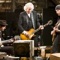 Ax men Jack White, Jimmy Page and The Edge jam on it. | &#169;2009 Steel Curtain Pictures, LCC, All Rights Reserved