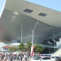 A new home: The imposing 30,000 sq. meter Busan Cinema Center was the talk of this year's Busan International Film Festival. | PHILIP BRASOR
