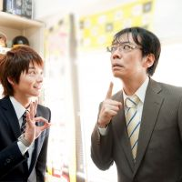 Business and displeasure: Teppei Koike (left) and Katsuhisa Namase in 'Sarariman Neo Gekijoban (Warai) (Japanese Salaryman Neo).' | © 2011Japanese Salaryman NEO Film Partners