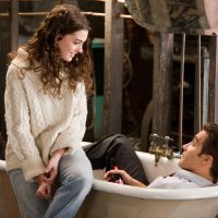 Ready for a rubber duck: Anne Hathaway and Jake Gyllenhaal keep their clothes on (briefly) in 'Love & Other Drugs.'   © 2011 Twentieth Century Fox Home Entertainment LLC. All Rights Reserved.