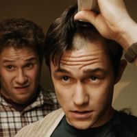Boys will be boys: '50/50' (left) takes a comic approach to life-threatening illness, as cancer victim Adam (Joseph Gordon-Levitt) leans on his best buddy, Kyle (Seth Rogen), for support. Meanwhile, '30 Minutes or Less' (above) drags the so-called 'bromance' subgenre to painful new lows. | © 2011 IWC PRODUCTIONS, LLC All Rights Reserved (left)