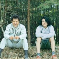 Branching out: A lumberjack (Koji Yakusho, left) and a B-movie director (Shun Oguri) strike up an unlikely friendship in 'Kitsutsuki to Ame.' | © 2011