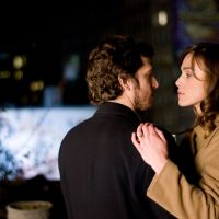 Low fidelity: Joanna (Keira Knightley) enjoys a fling with French ex-lover Alex (Guillaume Canet) in the messy relationship drama 'Last Night.' | © 2009 Last Night Productions, Inc.