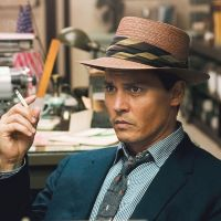 Drinking buddies: Writer Hunter S. Thompson was persuaded to publish his novel 'The Rum Diary' by actor Johnny Depp (seen here playing the story's lead, Paul Kemp, in the film adaptation of the book).   © 2011 GK FILMS, LLC. ALL RIGHTS RESERVED