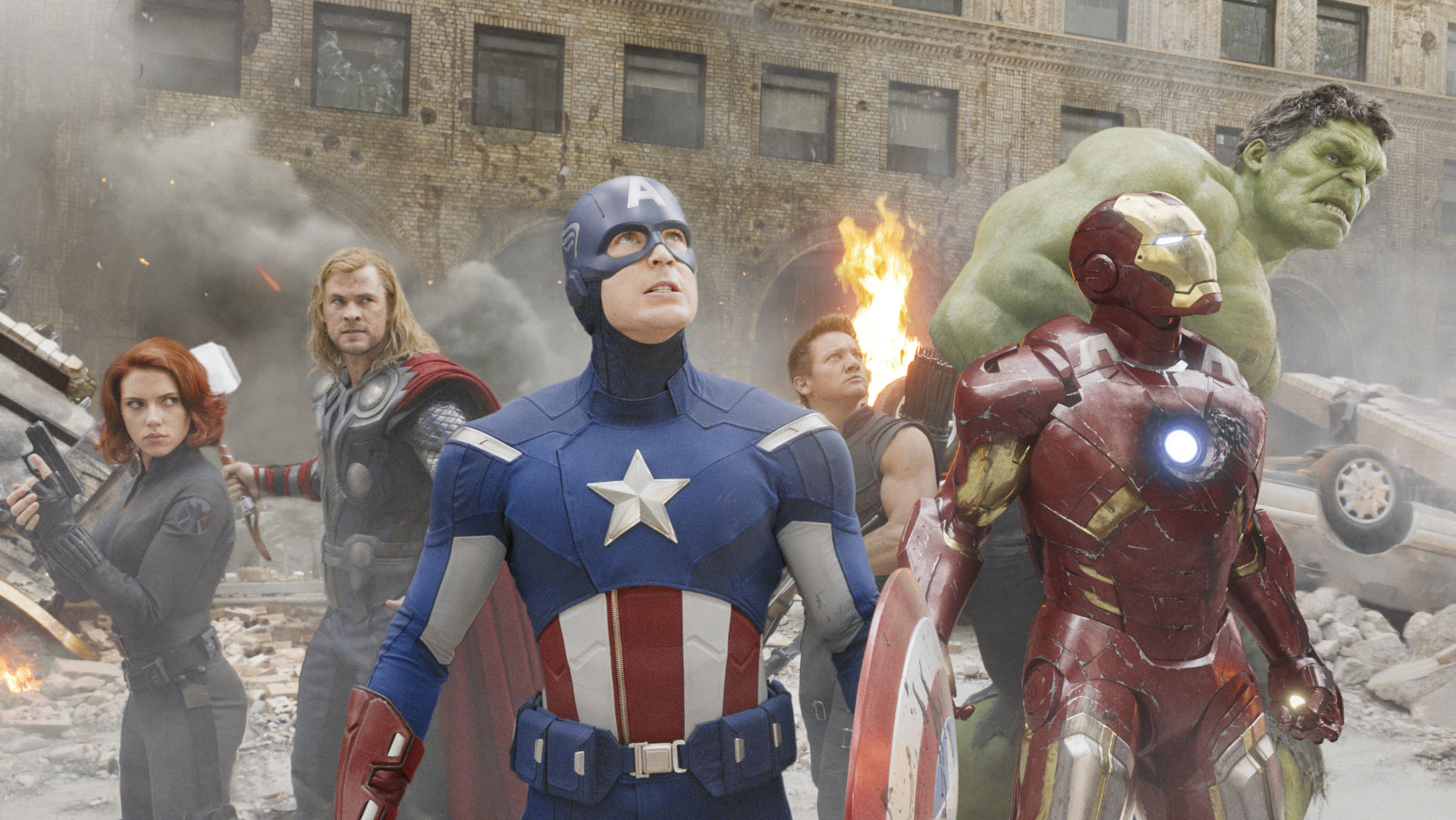 Superheroes earn nine zeroes: Marvel's calculated buildup to 'The Avengers,' with films featuring Iron Man, Thor, Captain America and the Hulk, has resulted in this film alone pocketing $1.5 billion — and rising. | © 2011 MVLFFLLC. TM & © 2011 MARVEL. ALL RIGHTS RESERVED