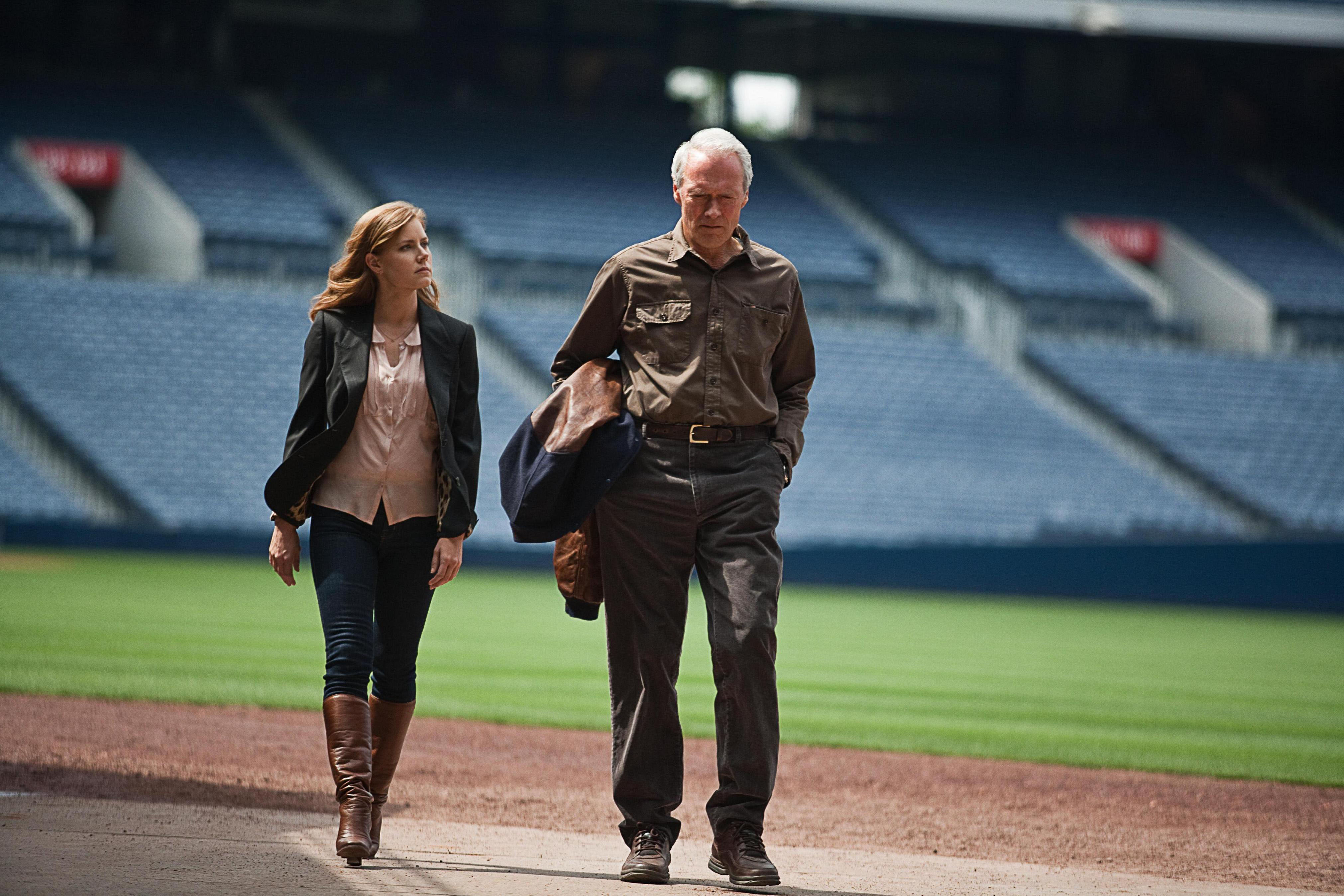 Clint Eastwood plays a soon-to-retire baseball scout opposite Amy Adams in father-daughter drama 'Trouble With the Curve' | © 2012 WARNER BROS. ENTERTAINMENT INC