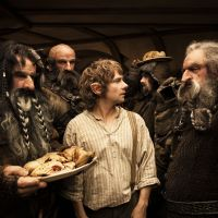 Pass the sauce: The humor in director Peter Jackson's film adaptation of J.R.R. Tolkien's novel 'The Hobbit' often strays into 'Shrek' territory. | © 2012 WARNER BROS. ENTERTAINMENT INC. AND METRO-GOLDWYN-MAYER PICTURES INC.