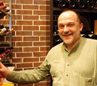 Co-owner and head sommelier Marc Delacourcelle