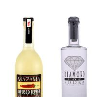 Diamond 100 and Mazama Infused Pepper Vodka are two of the newest faces on Japanese vodka shelves.