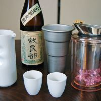 Some like it hot: Though purists may disagree, certain types of sake, such as Mii no Kotobuki Yamahai Kokuryoumiyako pictured here, taste better when carefully heated. | MELINDA JOE