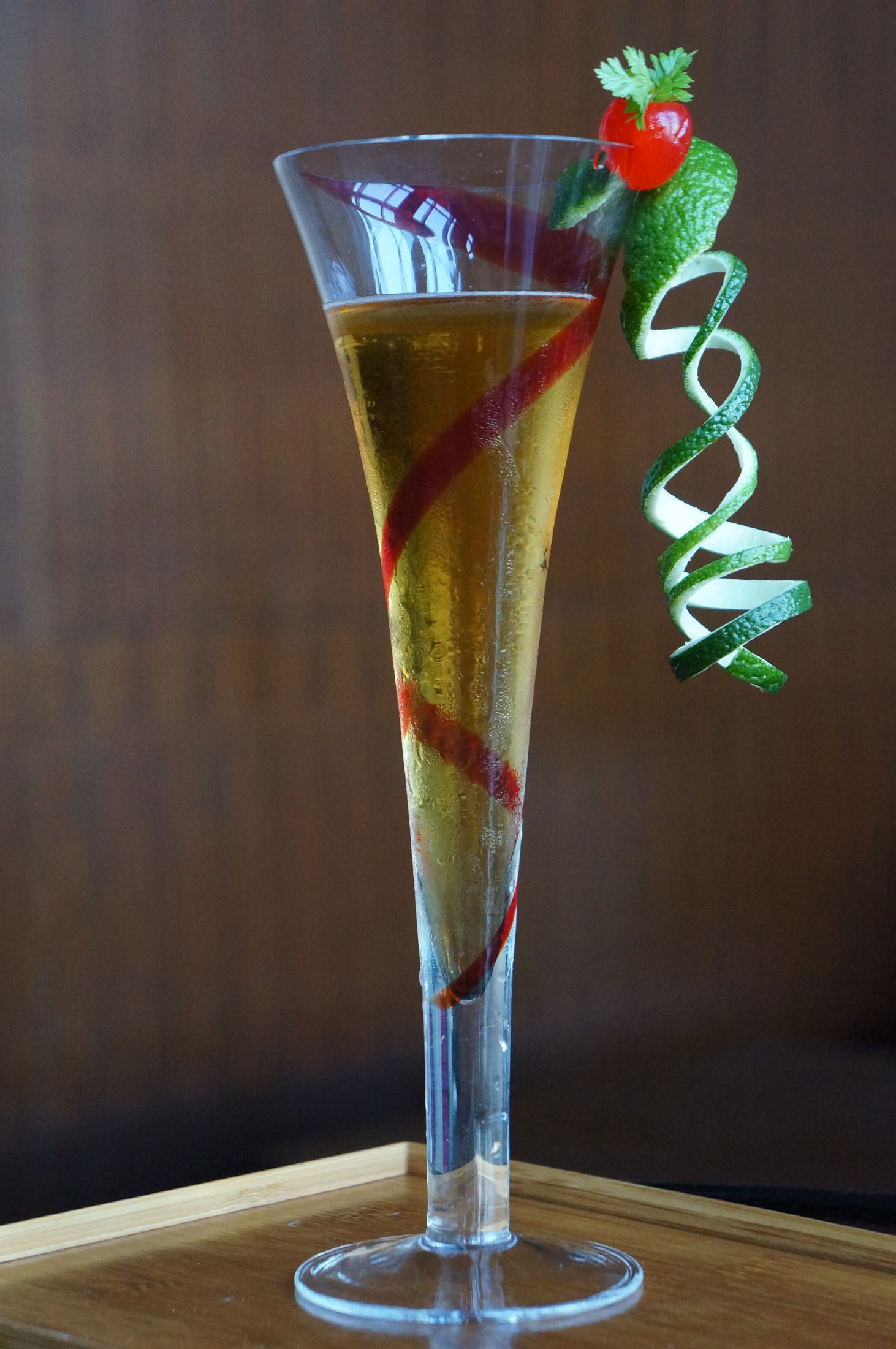 ... sake and strawberry cocktail are slowly gaining popularity, despite