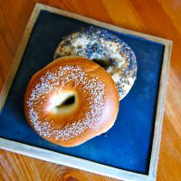 Get a round: Bagel Standard in Naka-Meguro is on Tokyo's small but growing list of sellers of authentic bagels. | MELINDA JOE