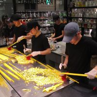 Sugar rush: Making sweets at Papabubble. | ROBBIE SWINNERTON