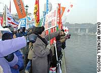 Japanese activists rally to antiwar cry