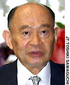 Justice Minister Daizo Nozawa has vowed to target foreign criminals.