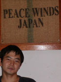 Heading Peace Winds' operation in Dili is veteran relief worker Tom Kanemaru.