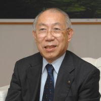 Business for culture: Yoshiharu Fukuhara, the honorary chairman of cosmetics giant Shiseido, is also one of Japan's most informed lobbyists for culture. 'Not a single law has come out of the 2001 Fundamental Law for the Promotion of Culture and the Arts,' he says. | YOSHIAKI MIURA PHOTO