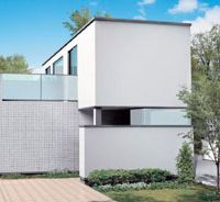 Wonder walls: Self-cleaning tiles cover this low running-cost house. | INAX CORP.