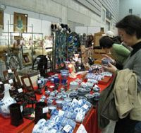Bric-a-brac: About 15,000 people came to the 14th Yokohama Kotto World antique fair, where they had items appraised and enjoyed browsing anything from suits of armor, ancient Korean ceramics to pop memorabilia.