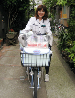 'Yakult Lady' Chie Takamizawa