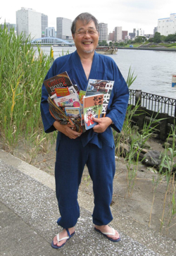 Fish master Tatsuo Ichikawa