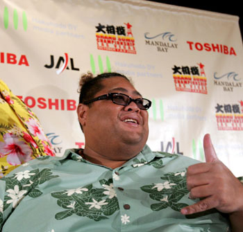 Big in Japan: Former sumo star Konishiki. | AP PHOTO