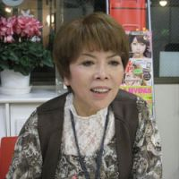 Upfront: Sachiko Nakasone seen during her recent JT interview. | TOMOKO OTAKE