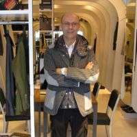 Fashion designer Saleem d'Aronville