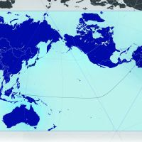 A new world: The AuthaGraph map projection of the Earth developed by Tokyo-based architect-cum-artist Hajime Narukawa. By accurately representing all the areas of land and sea, Narukawa's projection corrects those distortions in the 1569 Mercator projection (bottom of the story), which remains the standard view we have of the world to this day. | &#169; AUTHAGRAPH CO. LTD.