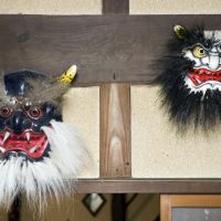 Other masks created by Davies include Kurooni (black ogre) and Japanese Ogre.