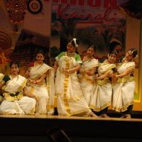 Local version: Onam Dancers in Tokyo. | COURTESY OF SREEKUMAR