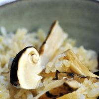 Fumiko Mizuguchi's hearty post-hunt matsutake sukiyaki feast; our trove of fungal treasures; and the author's wife, Sasha, strikes paydirt.