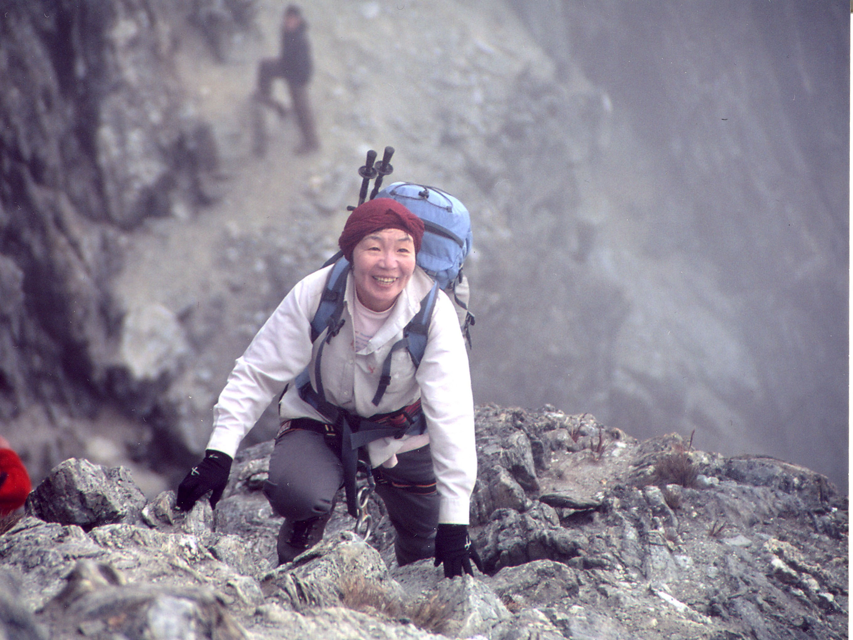 junko tabei   the first woman atop the world