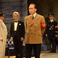 Ill-fated: Mitani's 'serious human drama' about the top Nazis, 'Kokumin no Eiga (Nation's Movie),' had its run interrupted on March 11, 2011. | &#169; AKIHITO ABE &#169; PARCO
